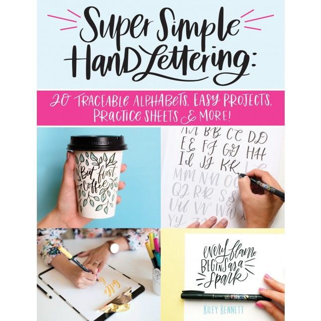 Super Simple Hand Lettering | Lettering tutorial, Hand
