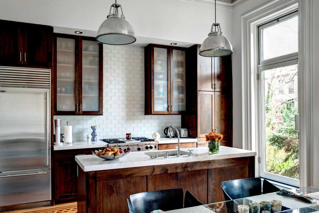 Brooklyn Ny Photo Bruce Buck For The New York Times Brownstone Interiors Kitchen