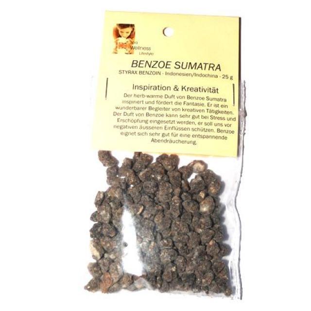 Benzoe Sumatra 25g Styrax Benzoin - Räucherharz - Cleopatra's Duft-Oase