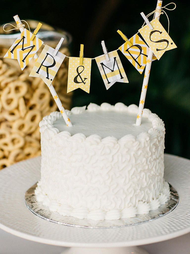 15 Awesome Diy Wedding Cake Topper Ideas With Images Diy