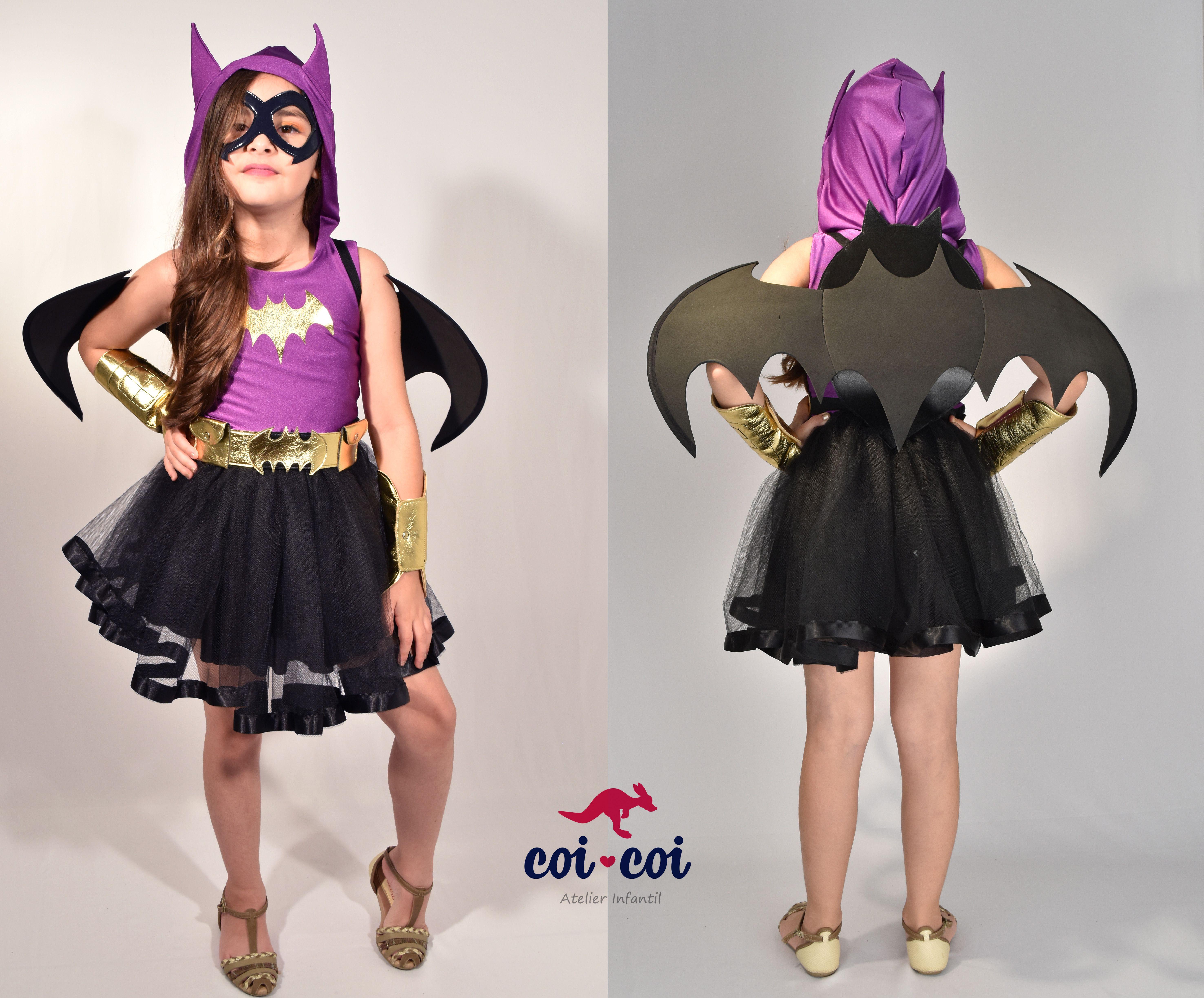 d16b8a42f20576 Fantasia Infantil Batgirl. www.coicoi.com.br | Fantasia em 2019 ...