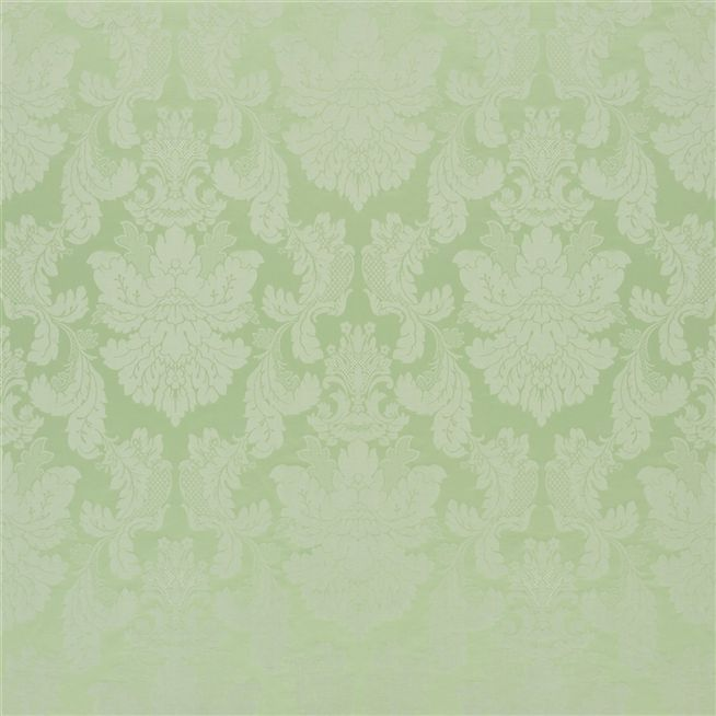 tuileries damask - leaf fabric