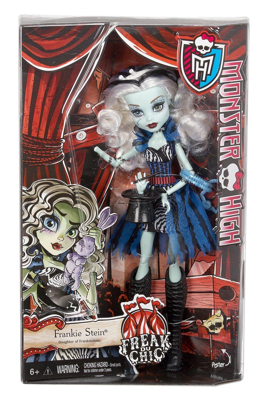 Frankie Stein - Monster High Freak Du Chic Doll