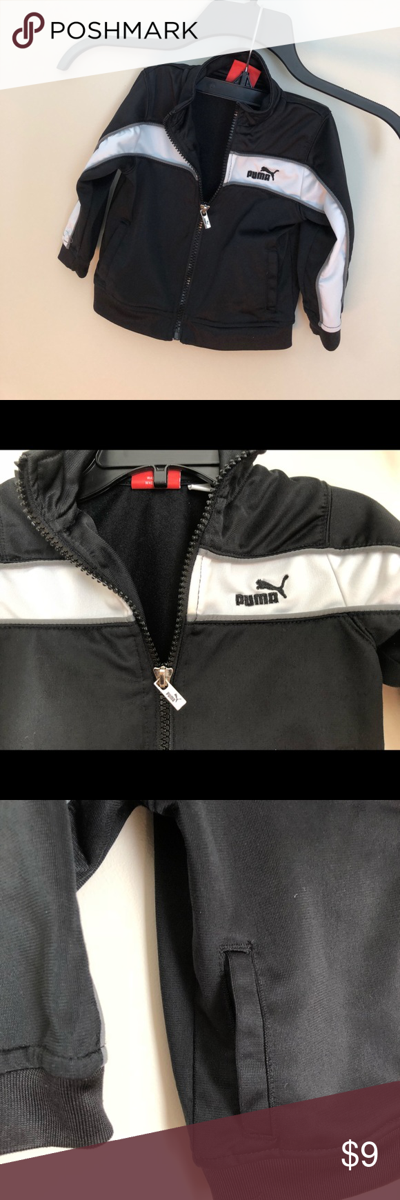 e6d8efdd613a Puma Toddler Boys 3T Light Jacket Pockets on side. Gently used. Great  condition Jackets   Coats