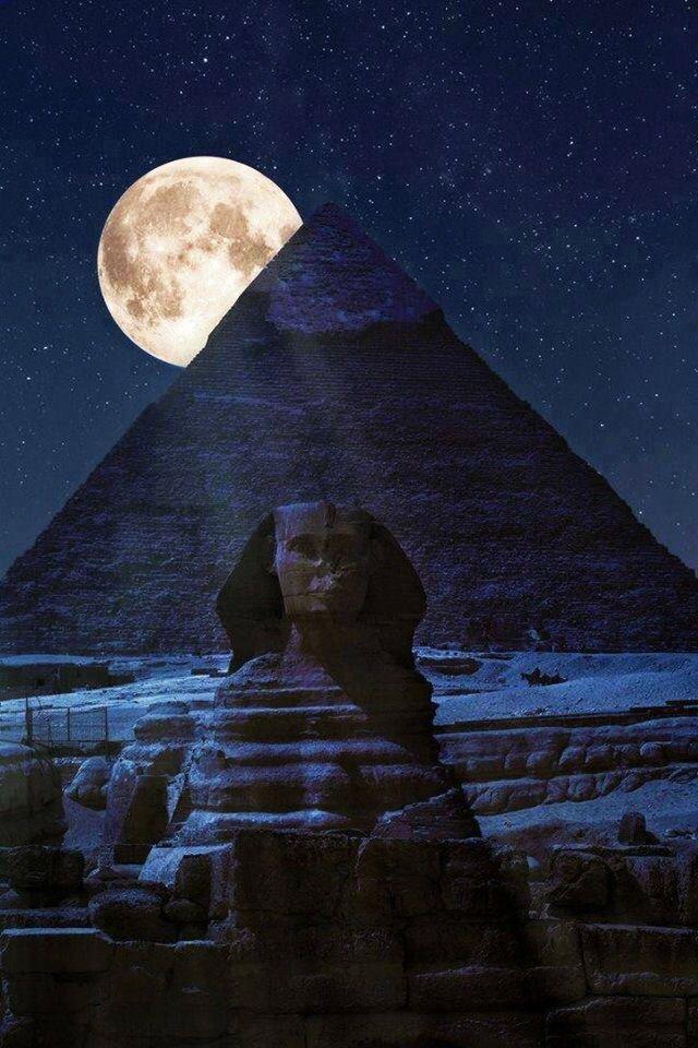 Night time Egypt