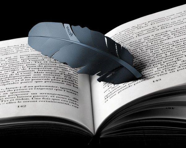 Feather Bookmark by Kosha – $60