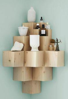 DIY Cornershelf