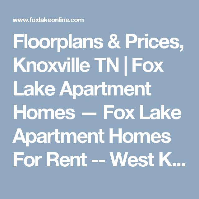 Floorplans & Prices, Knoxville TN
