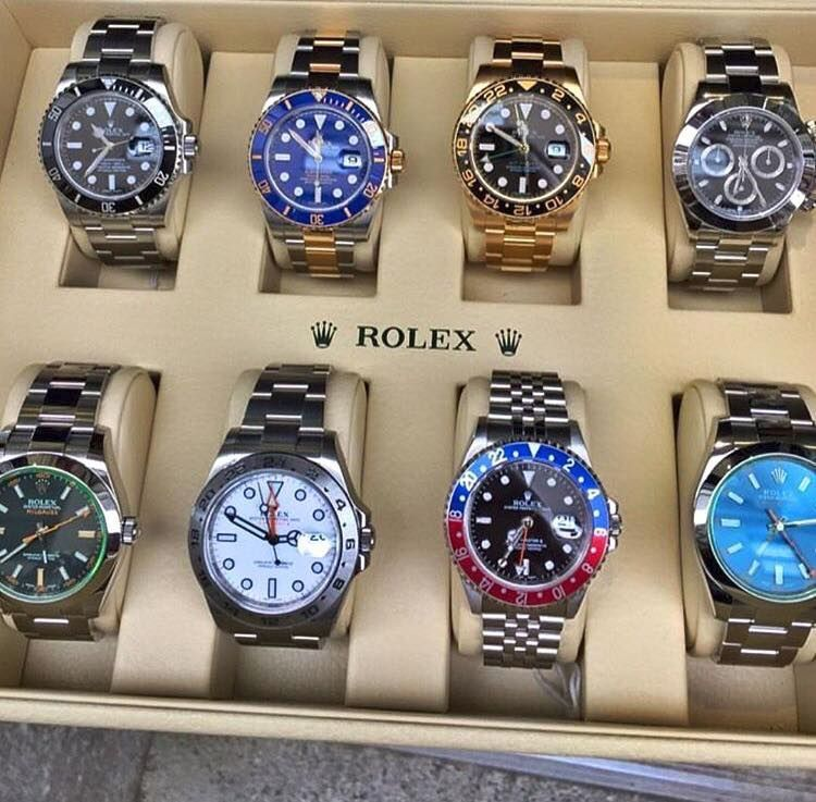 81ff86bf20a Rolex collection wow!