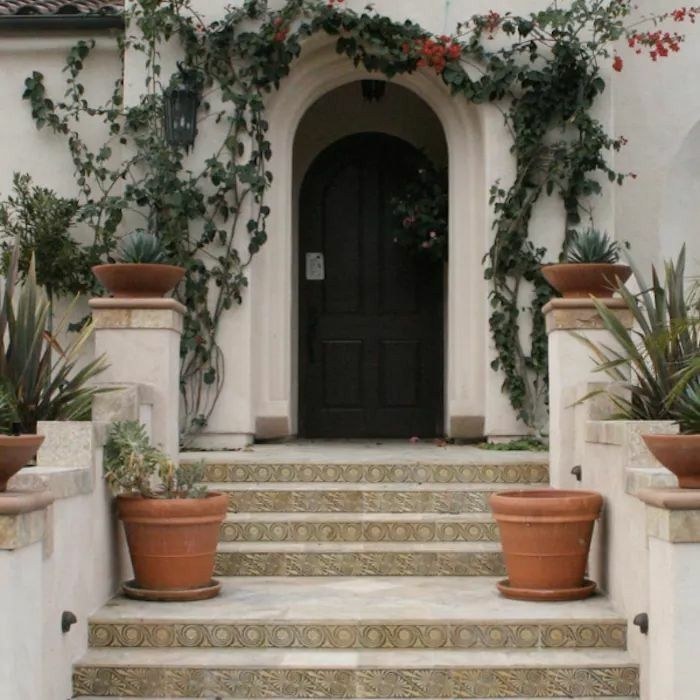 Mediterranean Style Front Doors: Pin By Bertha On Casas Bonitas