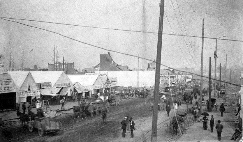 Spokane In 1889 When It Was Called The Quot Tent City