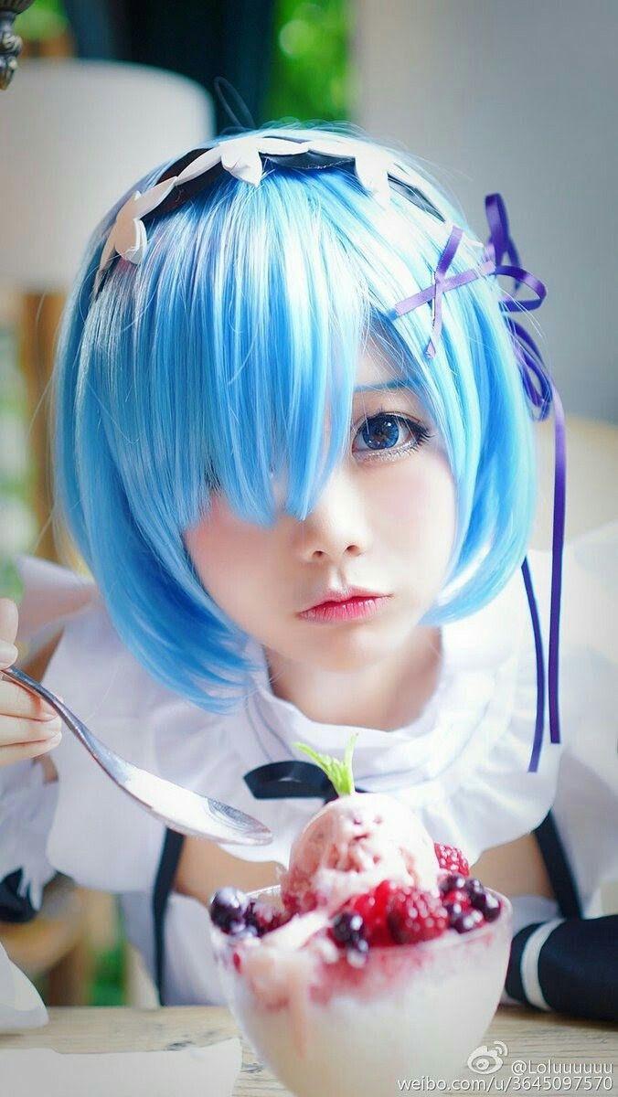 re zero rem cosplay girl kawaii | Cosplay World ...