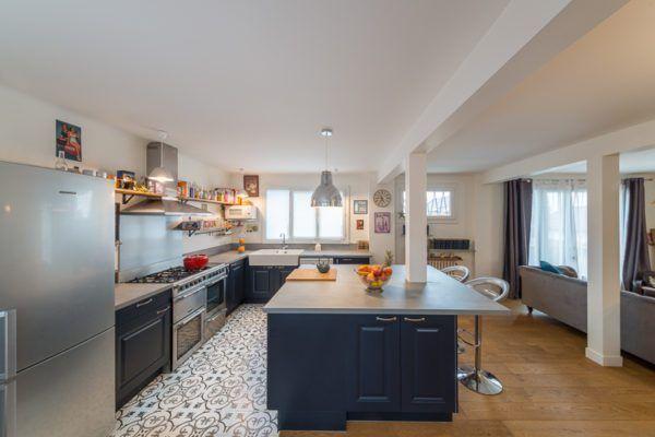 Maison Familiale Avec Images Cuisine Moderne Carrelage Cuisine Cuisines Deco