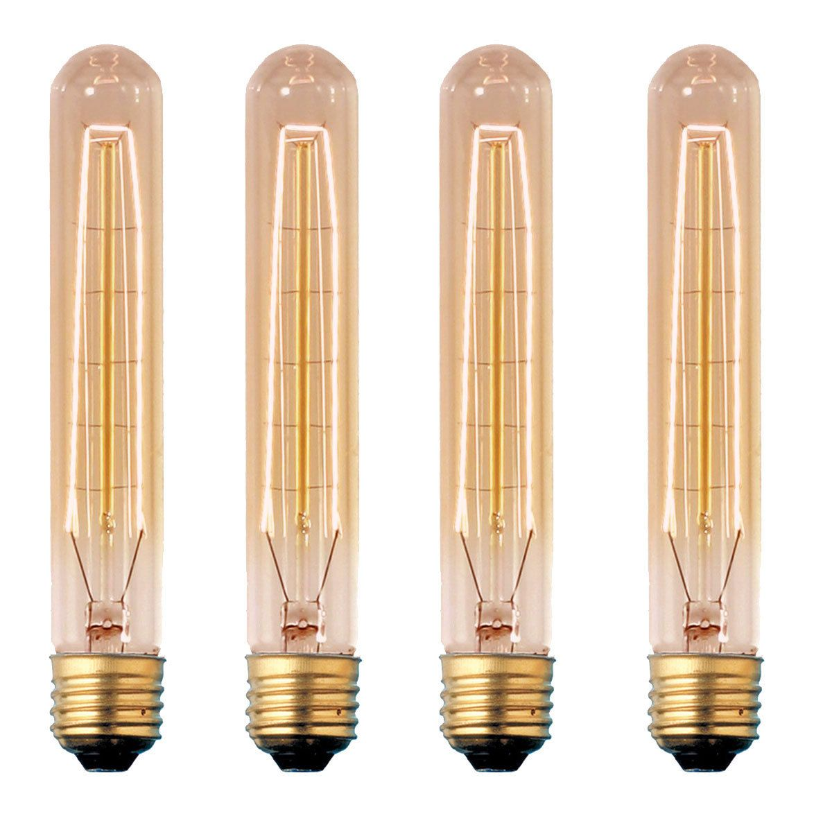 fabcom 30 watt beacon edison bulb 4 pk