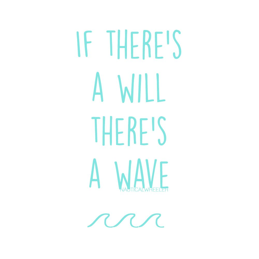 Wave Quote | Quotes | Pinterest | Captions, Beach and Instagram