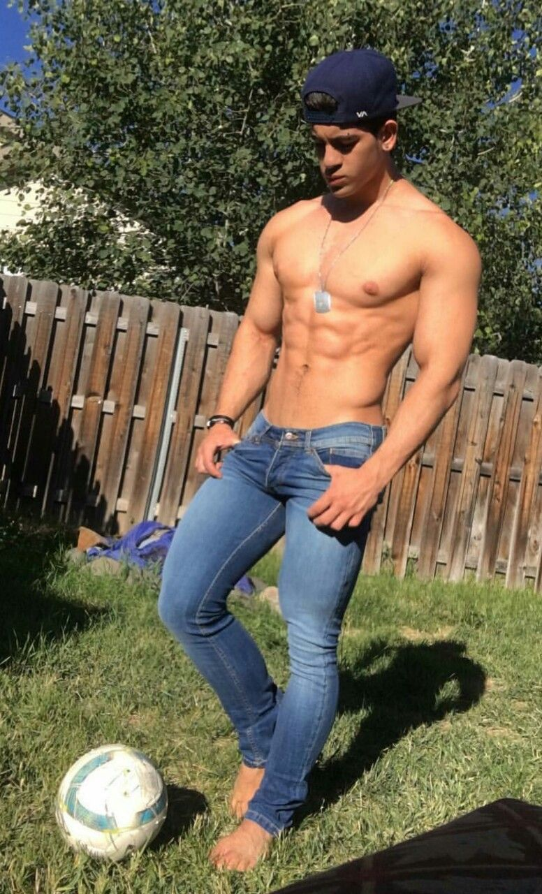 Hunks in tight pants