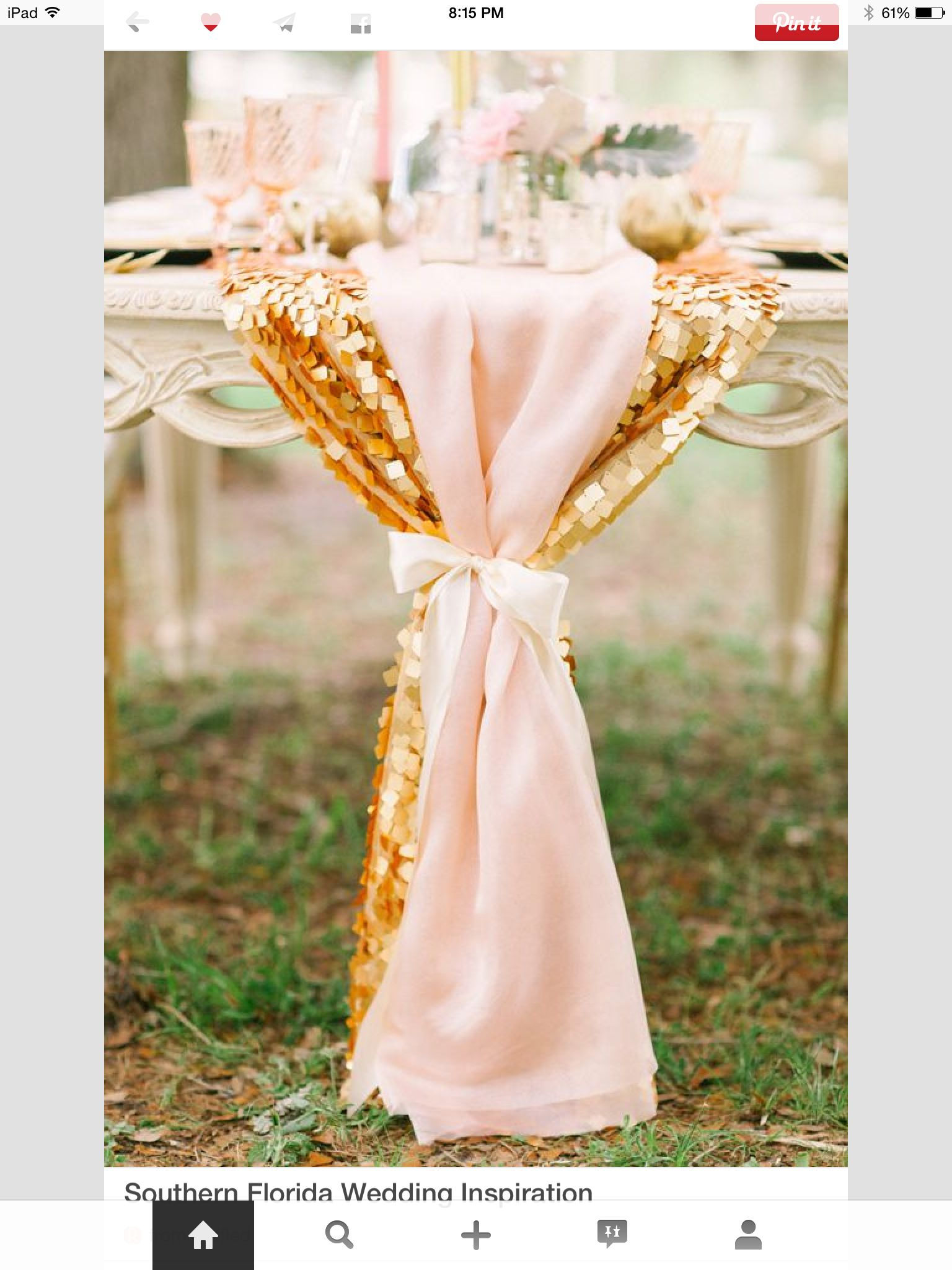 Wedding decorations gold and pink  Sparkle  glitter  table cloth  cocktail table  Linens