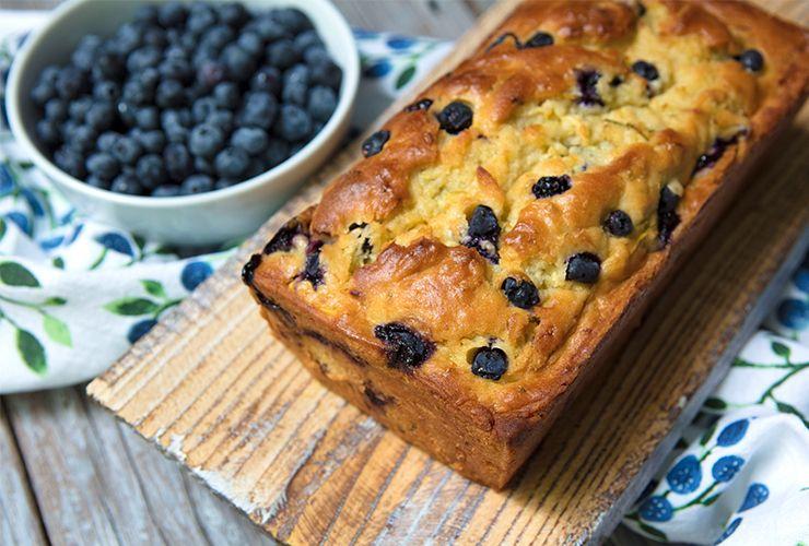 zucchini blueberry  buttermilk bread  recipe
