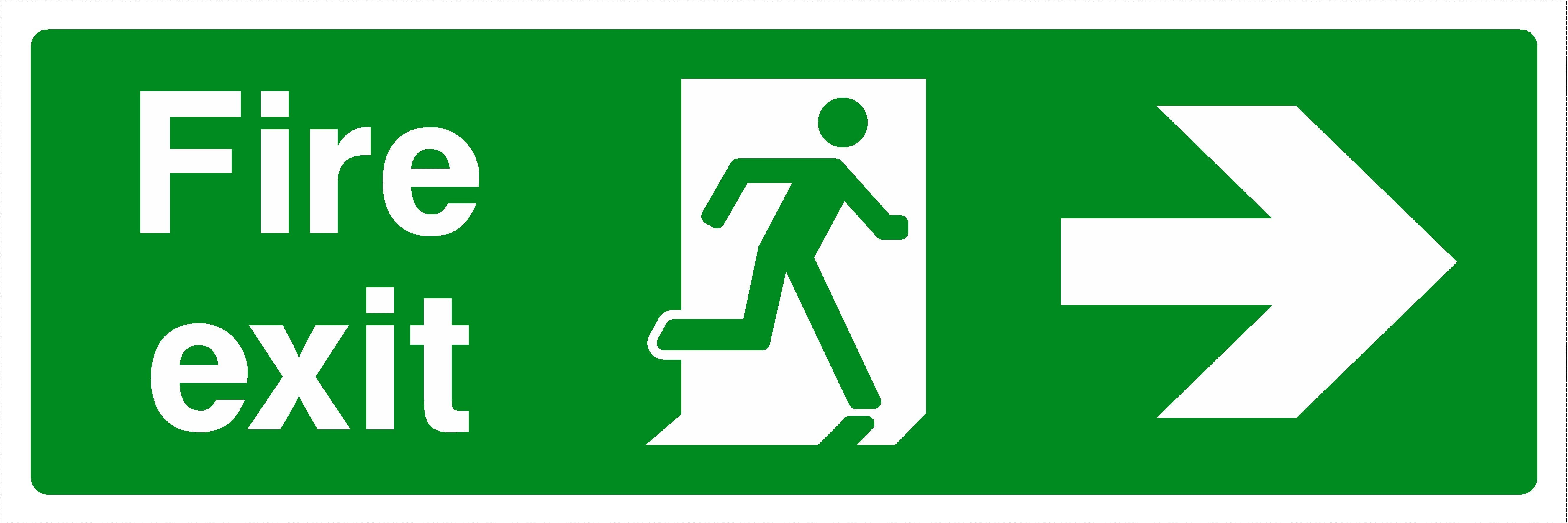 Image result for fire exit hd Exit sign, Signs, Signboard