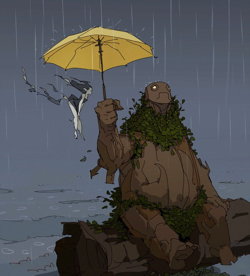 Rain By Varguy.deviantart.com On @DeviantArt
