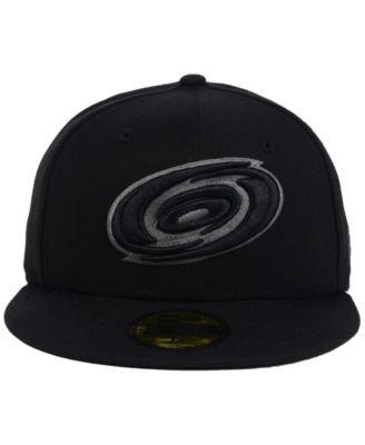 buy online 4b23d 59c9b New Era Carolina Hurricanes Black Graph 59FIFTY Cap - Black 7 5 8