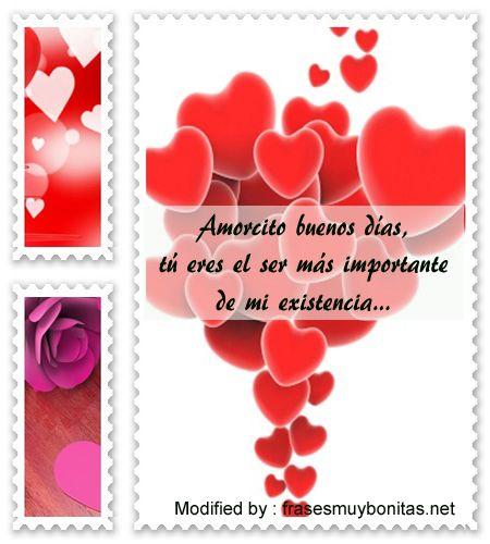 Saludos De Buenos Dias Amor Con Imagenes Frases D Amor 9