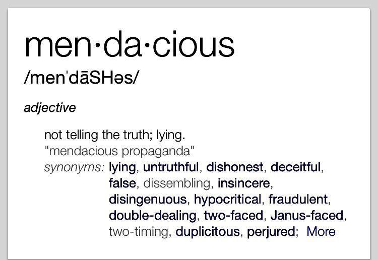 Mendacious | Unusual words, Uncommon words, Rare words