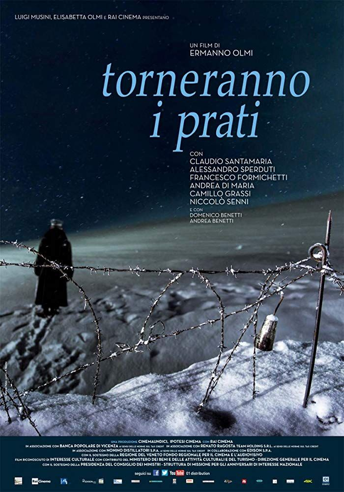 Torneranno i prati (2014) War on the Asiago plateau at