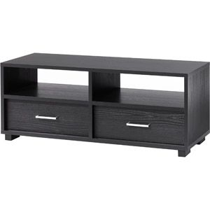 Hometrends Black Tv Stand With Drawers For Tvs Up To 50 62 00