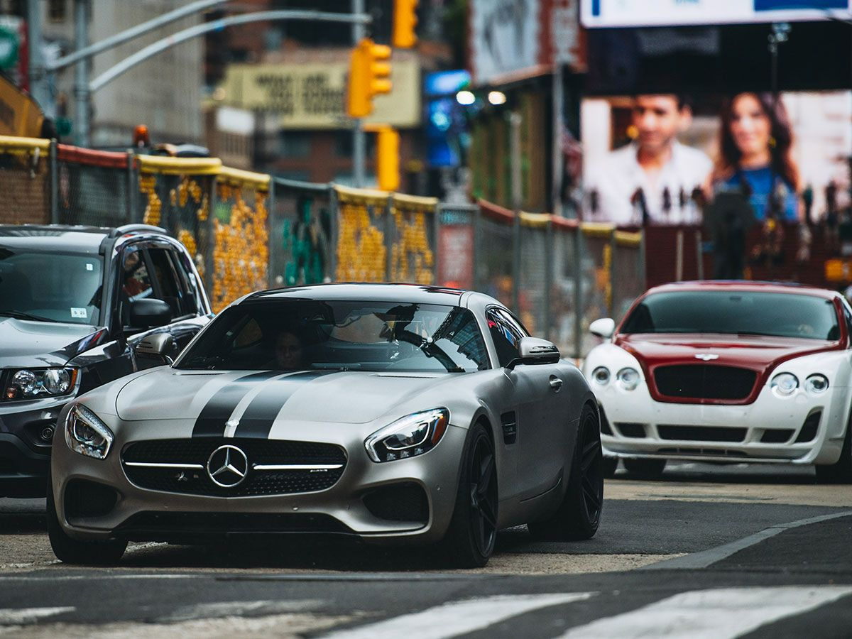 Fast And The Furious Cars Ludacris Mercedes Benz Amg Gt