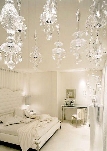 White Bedroom Sisustus Makuuhuone Koti