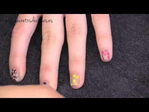 Pintado de uñas estilo leopardo