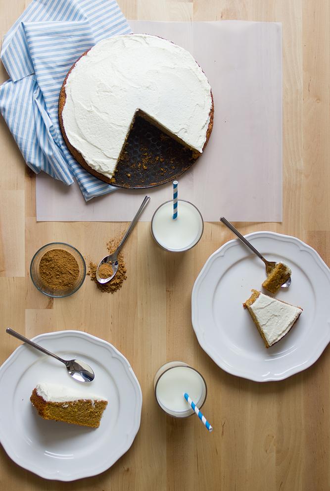The BudMaaS Kitchen | Tarta de zanahoria / Carrot cake