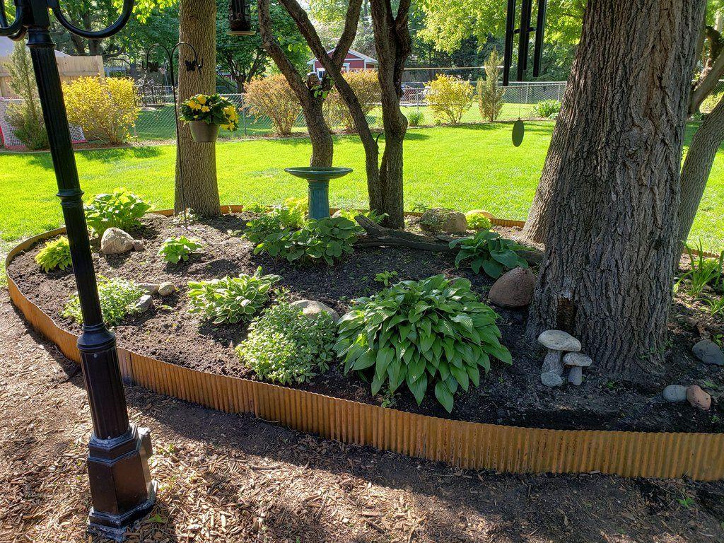 Corrugated Metal Landscape Edging Metal Garden Edging 400 x 300
