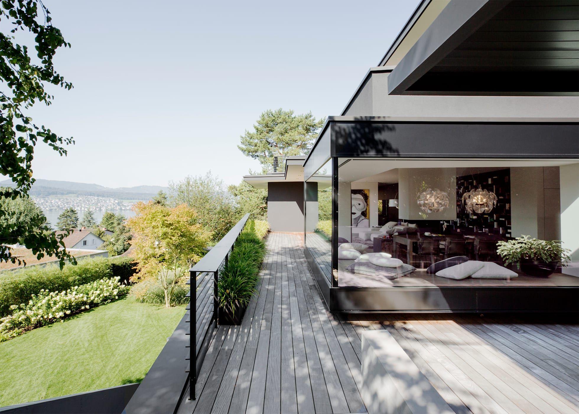 Balcon Veranda Terrasse Modernes Par Meier Architekten Zurich