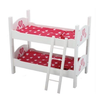 The New York Doll Collection Wooden Doll Bunk Bed Amazon Toys Amp