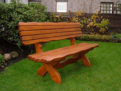 Gartenbank Holz Massiv | Holz Gartenbank | Pinterest