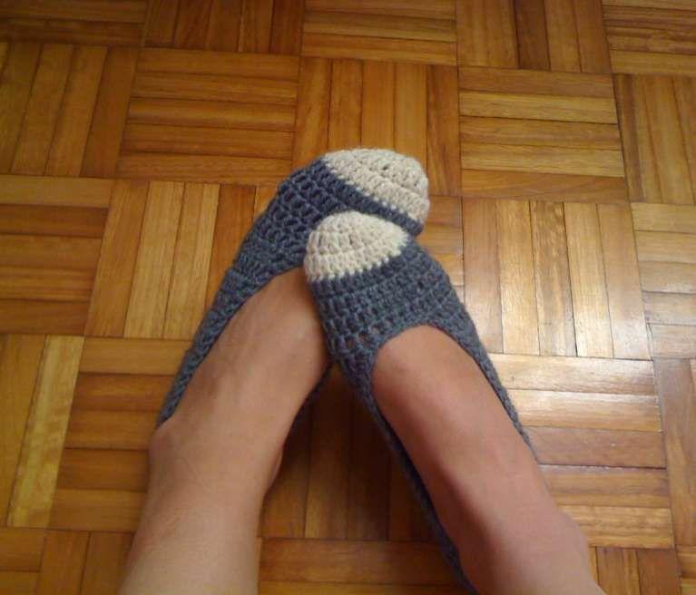 Photo of Pantofole all'uncinetto fai da te (Foto) | Donna