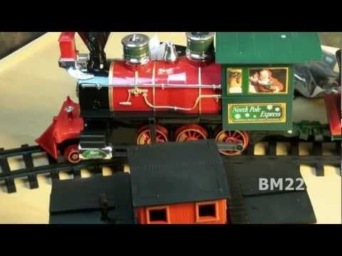 North Pole Express Christmas Train Set - YouTube   Train Christmas ...