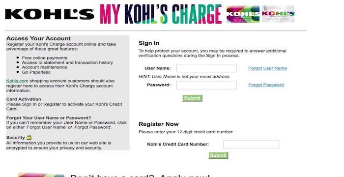 Kohls Pay By Phone