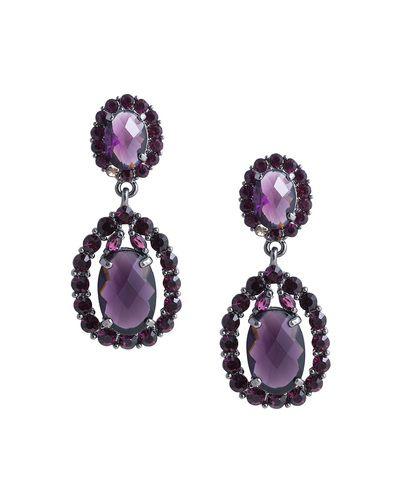 Purple Reign Earrings by JewelMint
