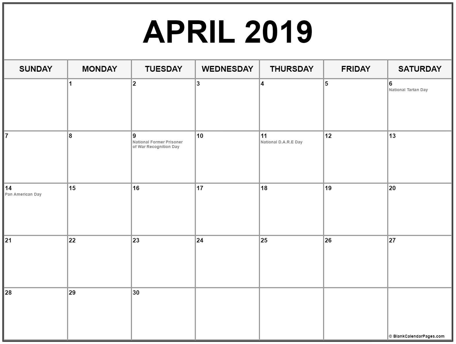 April 2019 Calendar Philippines Calendar 2019 With Holidays