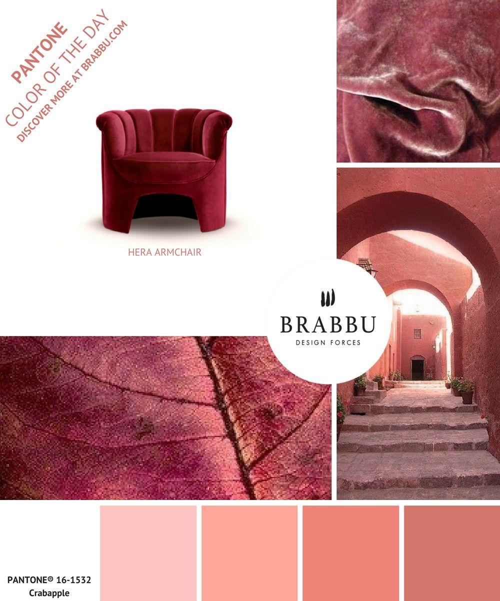 trouvez de l inspiration avec la couleur pantone du jour crabapple projets de decoration d interieure contemporains pour obtenir les images en haute