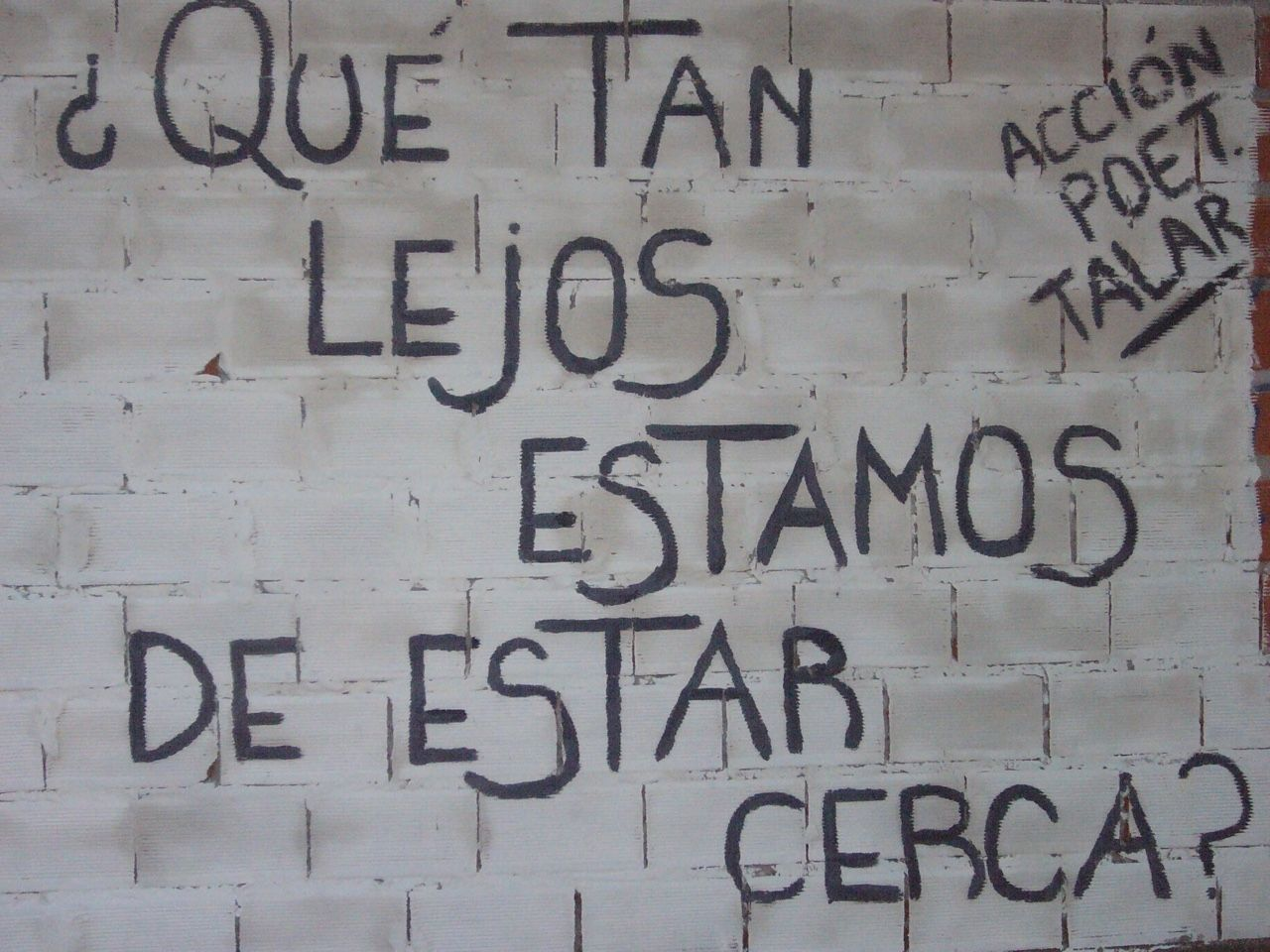 Accion Poetica Porno acción poética #10700414   graffiti quotes, love life quotes