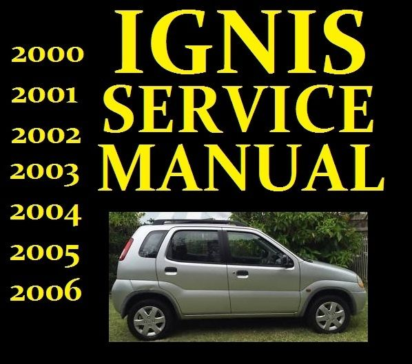 Suzuki Ignis Service Workshop Repair Manual Wiring Part Rg413 Rg415 2000 To 2006 Repair Manuals Repair Manual