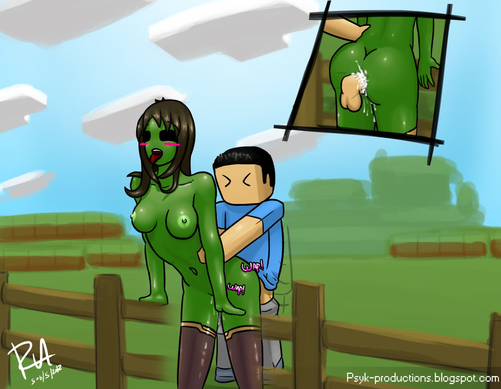 Creepers Minecraft Porn Nuthatches Creeper