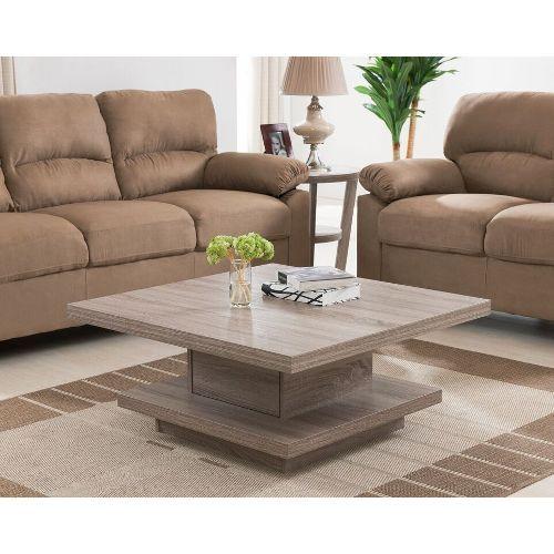 Light Oak Tiered Coffee Table Furniture Design Luxury Furniture