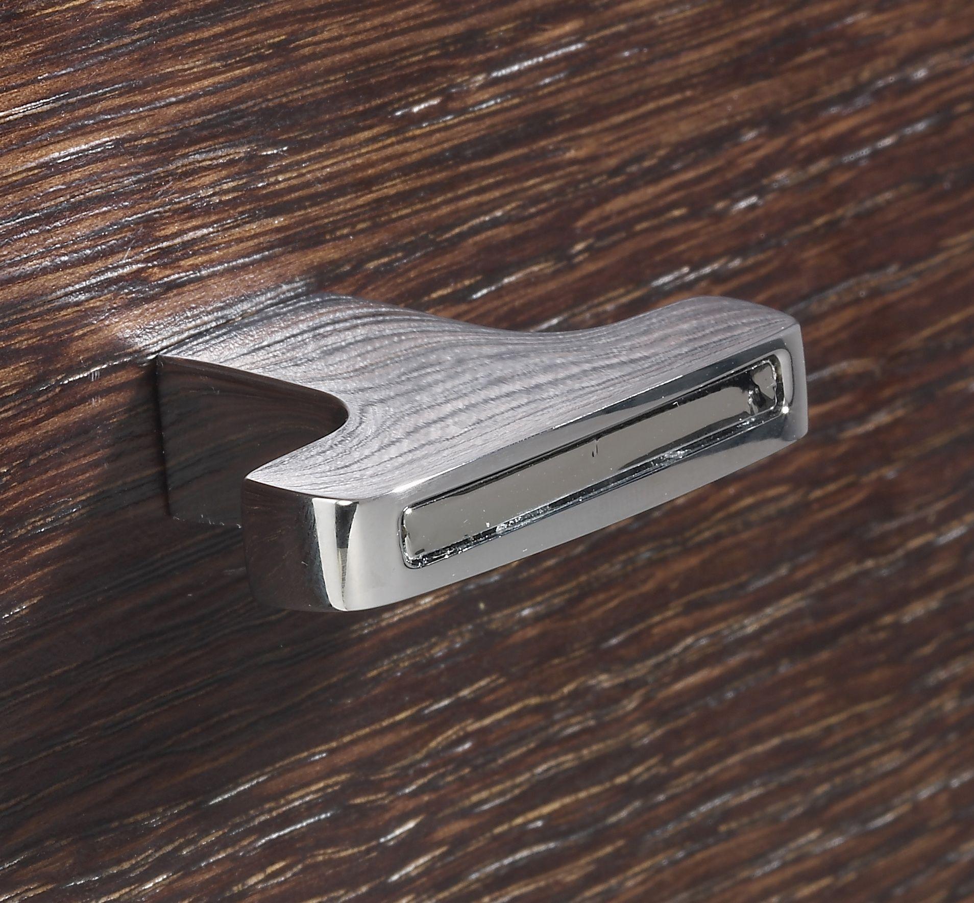 Luxury Bathroom Knobs profile drawing knob, chrome finish. #serdaneli #luxurybathroom