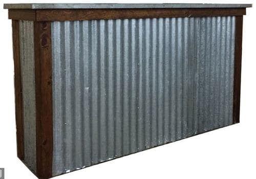 3 Corrugated Galvanized Steel 5 99 Menards Corrugated Metal Metal Bar Corrugated Metal Wall