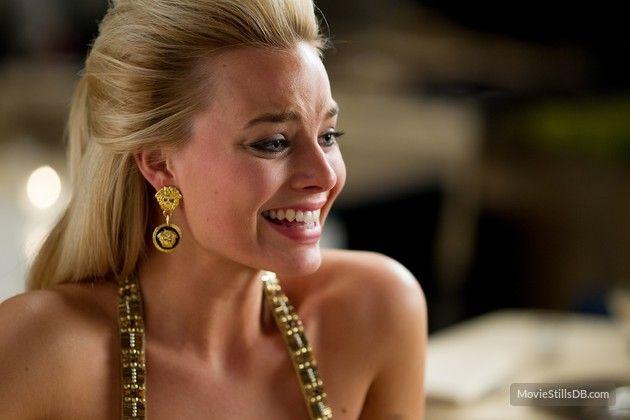 The Wolf of Wall Street publicity still of Margot Robbie